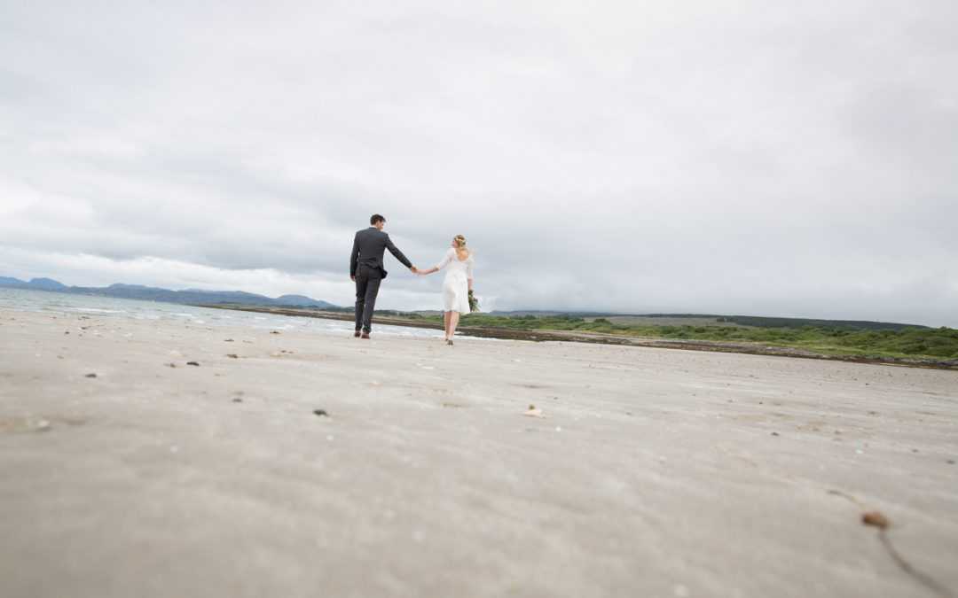 A Beach Elopement on The Isle of Skye